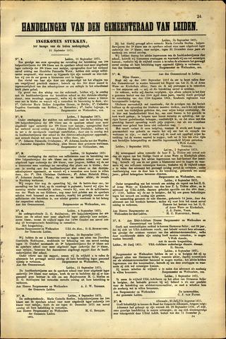 Handelingen van de Raad 1871-09-21
