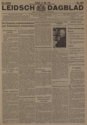 Leidsch Dagblad 1940-06-21