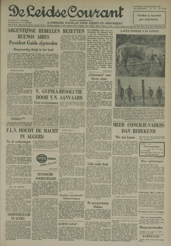 Leidse Courant 1962-09-22
