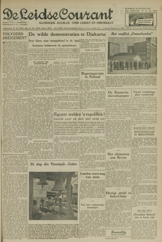 Leidse Courant 1952-10-18