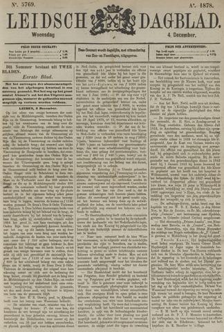 Leidsch Dagblad 1878-12-04