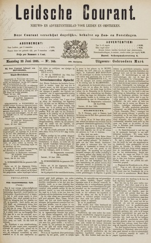 Leydse Courant 1885-06-22