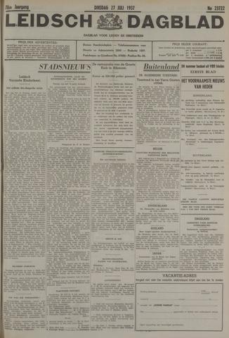 Leidsch Dagblad 1937-07-27