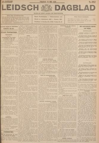 Leidsch Dagblad 1928-05-18