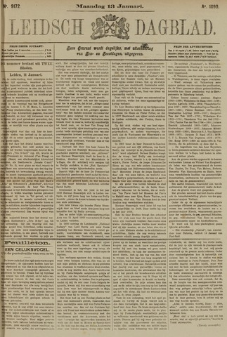 Leidsch Dagblad 1890-01-13