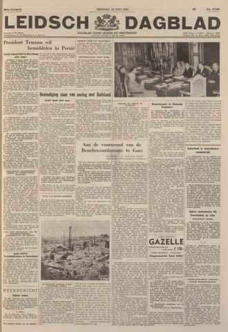 Leidsch Dagblad 1951-07-10