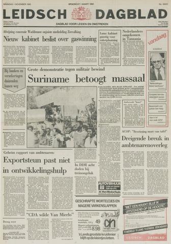 Leidsch Dagblad 1982-11-01