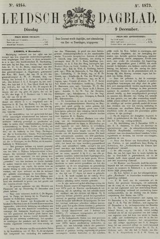 Leidsch Dagblad 1873-12-09