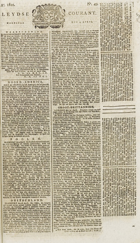 Leydse Courant 1822-04-24