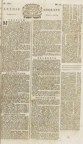 Leydse Courant 1822-07-01