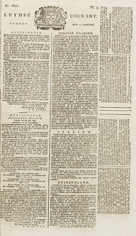 Leydse Courant 1822-01-11