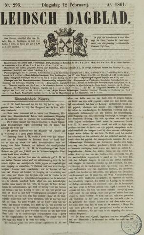 Leidsch Dagblad 1861-02-12