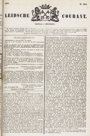 Leydse Courant 1876-12-01