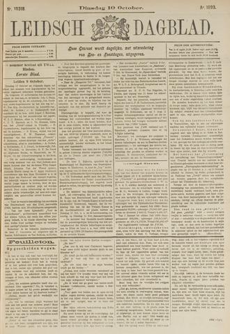 Leidsch Dagblad 1893-10-10