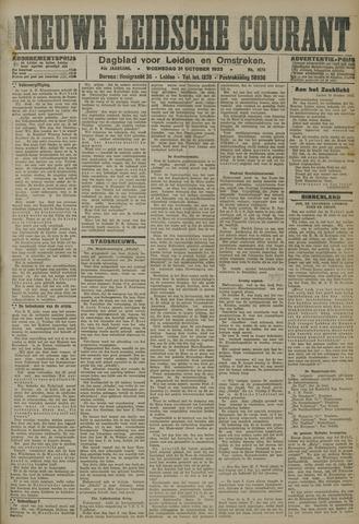 Nieuwe Leidsche Courant 1923-10-31