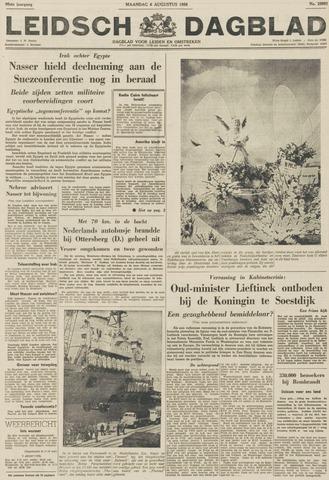Leidsch Dagblad 1956-08-06