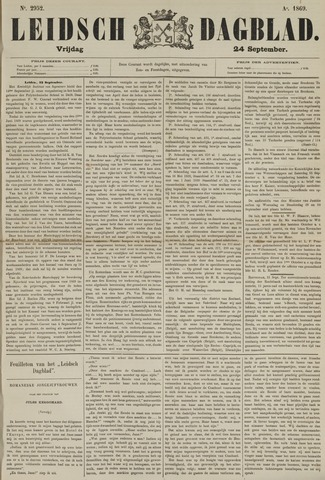 Leidsch Dagblad 1869-09-24