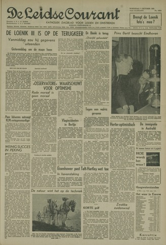 Leidse Courant 1959-10-07