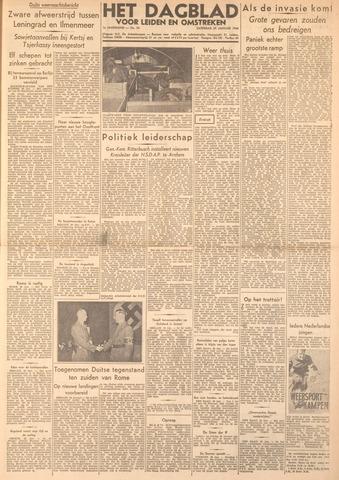 Dagblad voor Leiden en Omstreken 1944-01-29