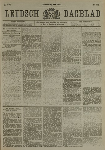 Leidsch Dagblad 1909-07-10