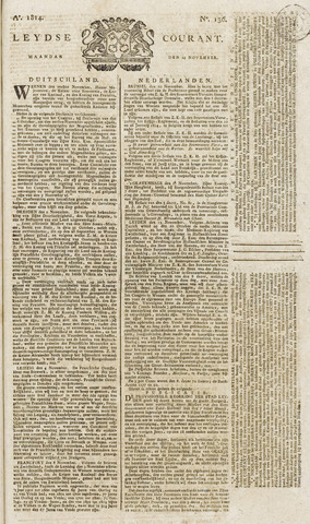 Leydse Courant 1814-11-14