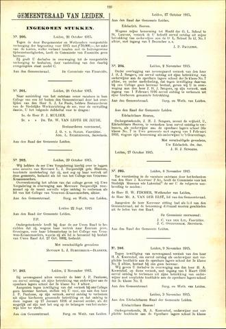 Handelingen van de Raad 1915-10-26