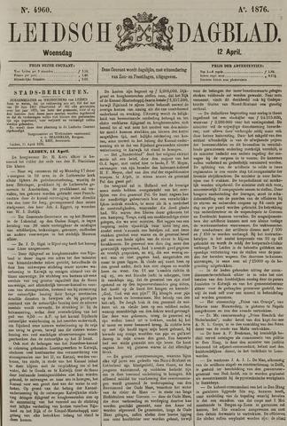 Leidsch Dagblad 1876-04-12
