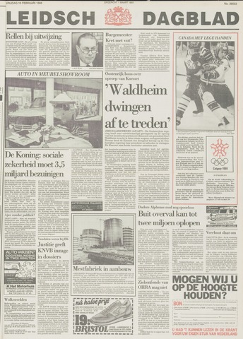 Leidsch Dagblad 1988-02-19
