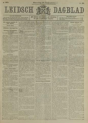 Leidsch Dagblad 1911-11-18