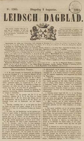 Leidsch Dagblad 1864-08-02