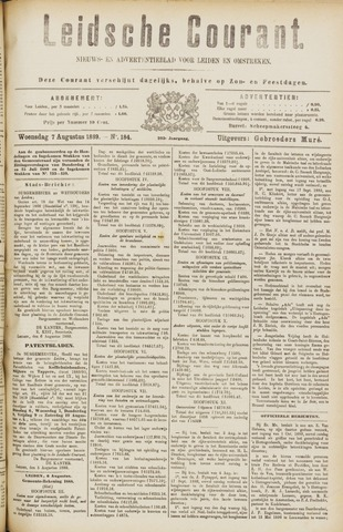 Leydse Courant 1889-08-07