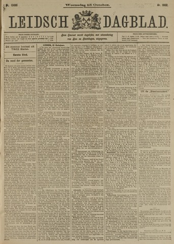 Leidsch Dagblad 1902-10-15