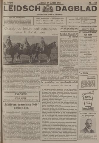 Leidsch Dagblad 1938-10-29