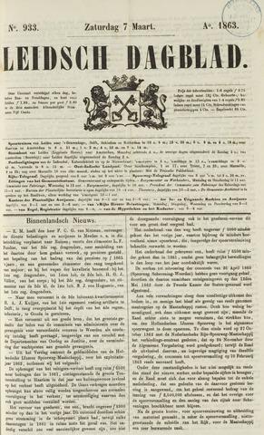 Leidsch Dagblad 1863-03-07