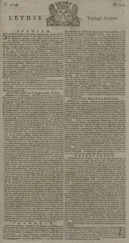 Leydse Courant 1739-10-09