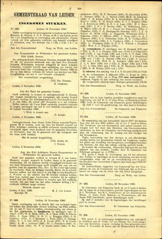 Handelingen van de Raad 1900-11-14