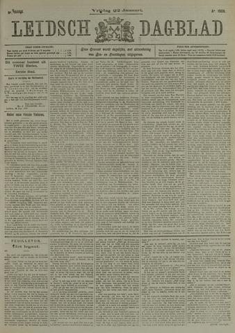 Leidsch Dagblad 1909-01-22