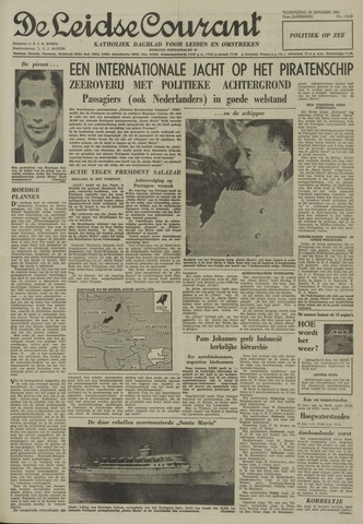 Leidse Courant 1961-01-25