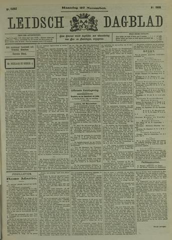 Leidsch Dagblad 1909-11-22