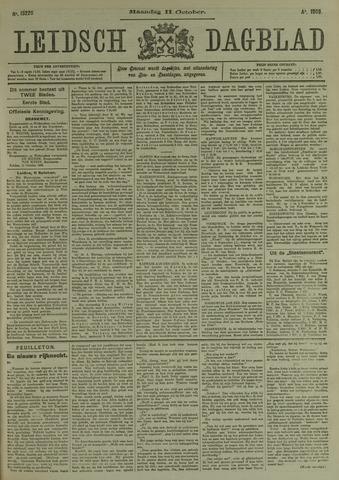 Leidsch Dagblad 1909-10-11