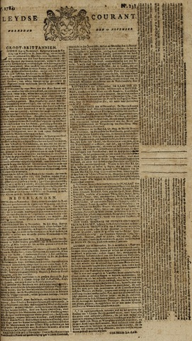 Leydse Courant 1784-11-17