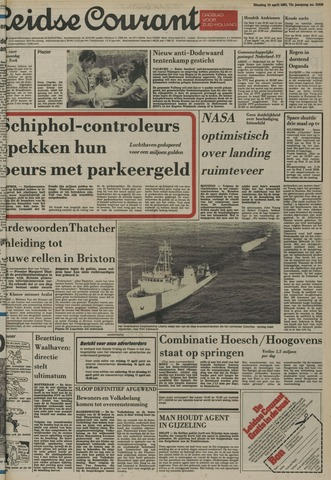 Leidse Courant 1981-04-14