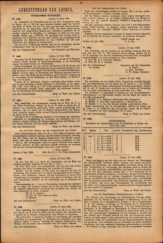 Handelingen van de Raad 1894-06-11