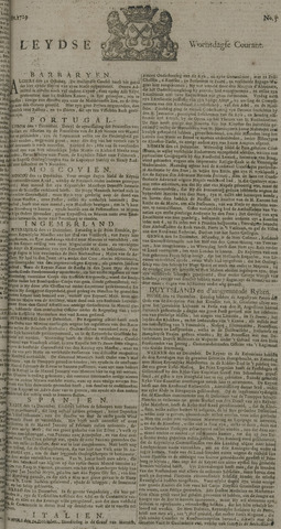 Leydse Courant 1729-01-12