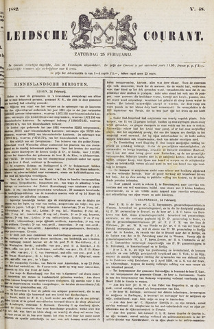 Leydse Courant 1882-02-25