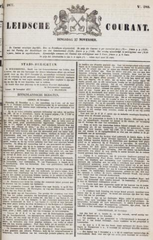 Leydse Courant 1877-11-27