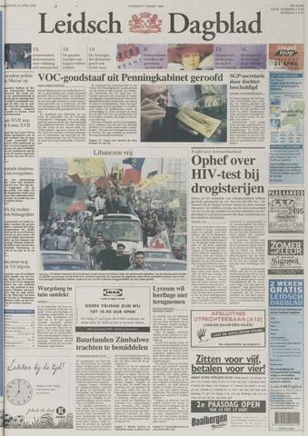 Leidsch Dagblad 2000-04-20