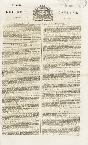 Leydse Courant 1841-05-21