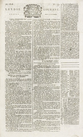 Leydse Courant 1818-10-30