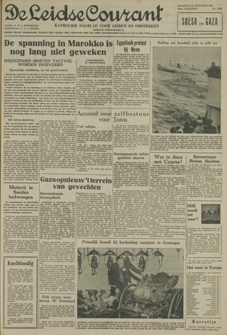 Leidse Courant 1955-08-29